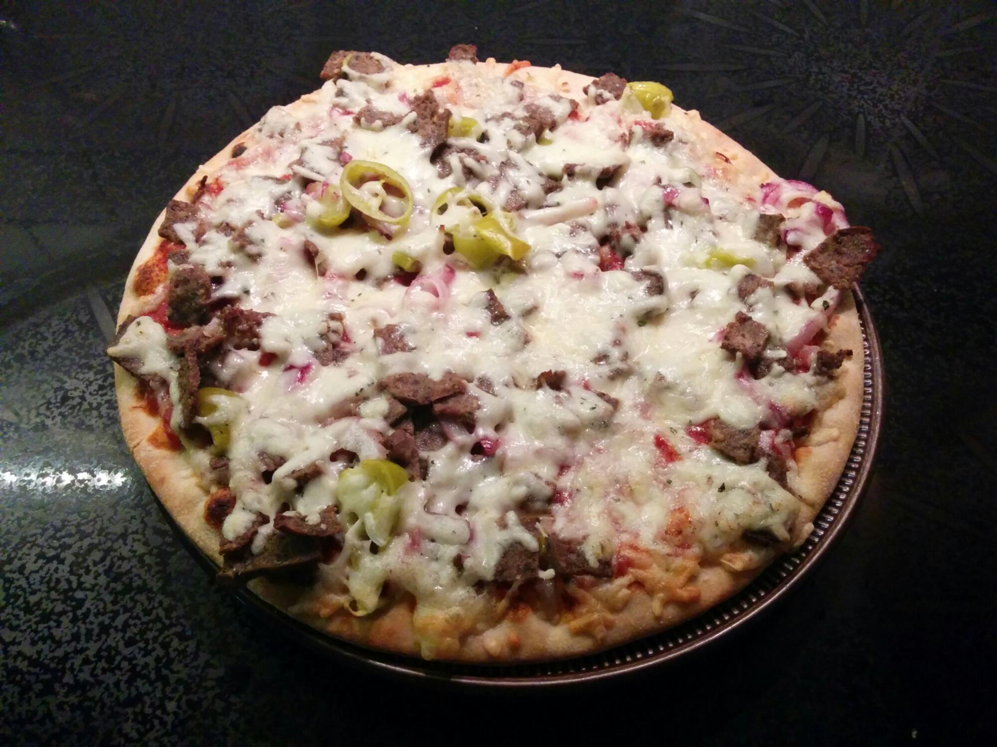 grandiosa pizza extra allt